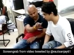 """In Aryan Khan Case, Sena's Sanjay Raut On New Clip: """"Witness Made To..."""""""
