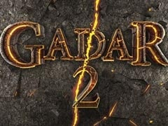 """<I>Gadar 2</i> Motion Poster: 20 Years Later, Sunny Deol And Ameesha Patel Are Back With """"The Biggest Ever Sequel"""""""