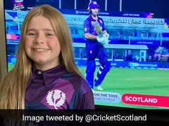 Cricket Scotland Thanks 12-Year-Old, Who Designed Team's T20 World Cup Jersey