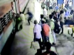 On CCTV, Cop's Swift Action Saves Pregnant Woman Who Fell From Train Near Mumbai