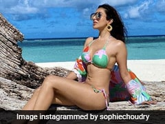 Sunkissed Sophie Choudry Is Brighter Than A Summer Day In A Colourful String Bikini