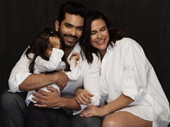 """Neha Dhupia Goes """"Oh Boy"""" In Her First Post After Birth Of Son"""