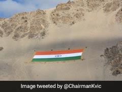 World's Largest Khadi National Flag In Leh Unique Tribute To Gandhi: PM Modi