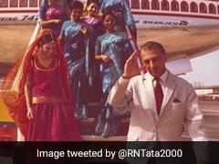 "Ratan Tata Tweets ""Welcome Back, Air India"" After Tata Sons Wins Bid"