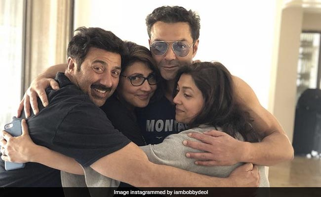 Bobby Deol Bookmarked Brother Sunny's 65th Birthday With This Wish