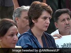 """No One Is Safe In UP"": Priyanka Gandhi Slams Yogi Government Over Lawyer's Murder"