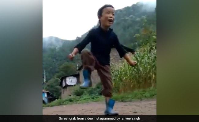 'Apna Time Aayega': Ranveer Singh's 'Spirit Animal' Is This Little Gully Boy