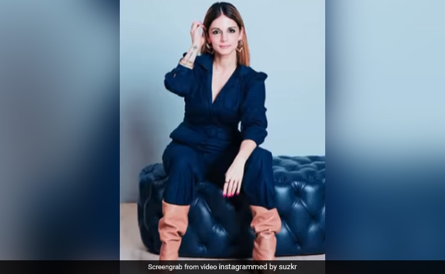 'Looking Really Cool' Sussanne Khan. Hrithik Roshan Agrees