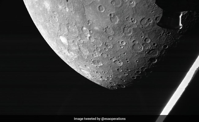 Europe-Japan house undertaking sends first pictures of Mercury