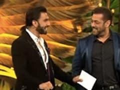 What Happened When Ranveer Singh Met Salman Khan On The Sets Of <i>Bigg Boss 15</i>