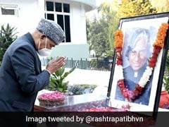 President Kovind Pays Tribute To APJ Abdul Kalam On His Birth Anniversary