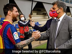 """""""Hoped Lionel Messi Would Offer To Play For Free,"""" Says FC Barcelona President Joan Laporta"""