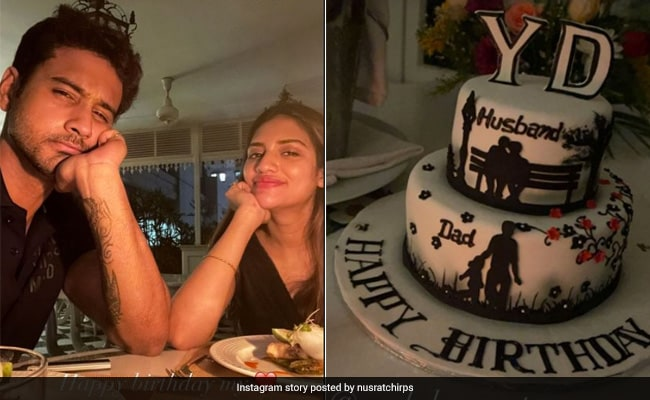Nusrat Jahan Refers To Yash Dasgupta As 'Husband' In Birthday Pics