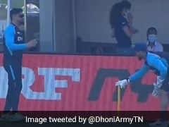 T20 World Cup: MS Dhoni Gives Keeping Lessons To Rishabh Pant In Dubai. Watch