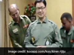 Watch: When Minister Kiren Rijiju Flew In A Sukhoi Fighter Jet
