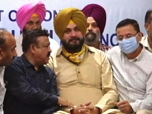 Video : Navjot Singh Sidhu's 'Agreement' With Punjab Chief Minister On Sticking Points