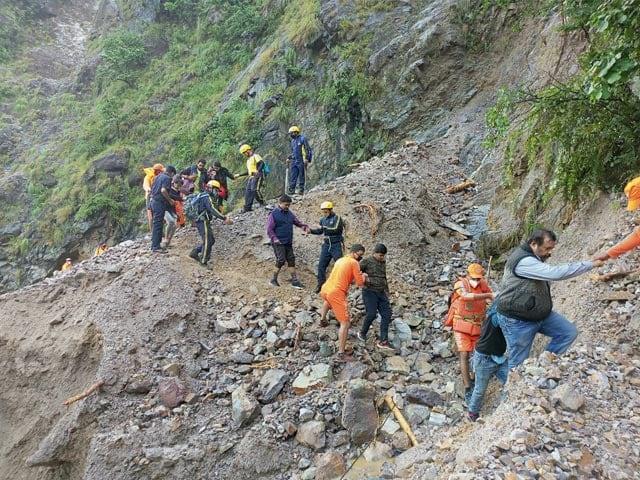 Video : 46 Dead As Rains Hit Uttarakhand, Rescue Efforts On