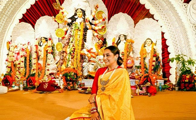 Durga Puja 2021: Inside Rani Mukerji's Navami Festivities. See Trending Pics