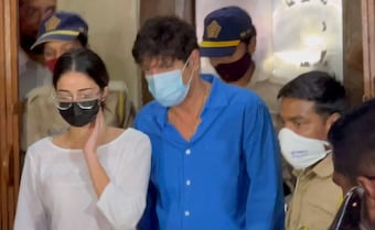 Ananya Panday Leaves Anti-Drug Agency Office, Called At 11 am Tomorrow