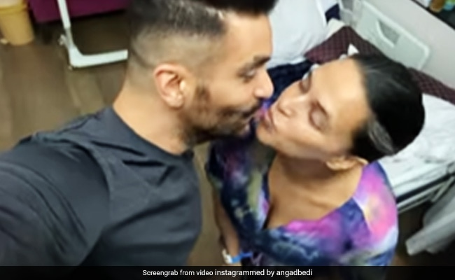 New Parents Neha Dhupia And Angad Bedi Seal It With A Kiss. Make That 'Steal'