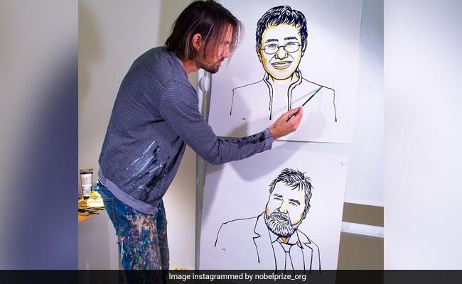 Meet The Artist Behind Those Gold-Leafed Nobel Prize Illustrations