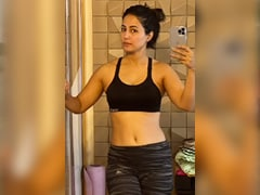"""""""I Chose Mental Health Over My Physical Appearance,"""" Writes Hina Khan In Her Post"""