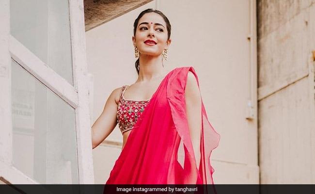 Karwa Chauth 2021 Puedes probar Ananya Pandey Festival Look en esta temporada