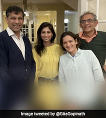 A Power-Packed Pic From Gita Gopinath's Pre-Diwali Celebration