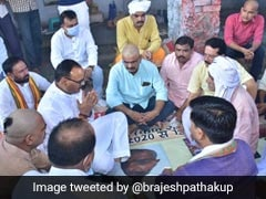 UP Minister Meets Families Of BJP Worker, Driver Killed In Lakhimpur Kheri