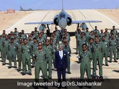 S Jaishankar Meets IAF Contingent Taking Part In Biennial Blue Flag Exercise In Israel