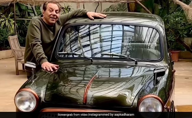 Dharmendra Shows Us His First Car, A Fiat. Guess How Much He Bought It For In 1960?