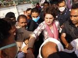 Video : Priyanka Gandhi Detained On Way To Home Of UP Man Who Died In Custody