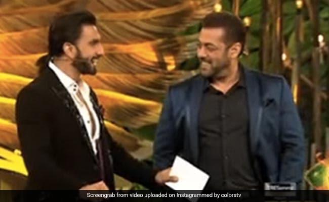 क्या हुआ जब बिग बॉस 15 के सेट पर सलमान खान से मिले रणवीर सिंह?