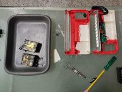 Over 6 Kg Gold Hidden In Lantern Seized From Hyderabad Airport