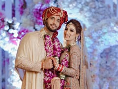 <I>Yeh Hai Mohabbatein</i> Actor Abhishek Malik And Stylist Suhani Chaudhary Are Now Married. See Pics From Their Wedding Festivities