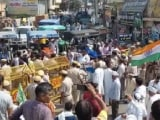 Video : Farmers Protest Haryana Chief Minister's Sonipat Visit Amid Huge Security