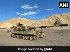 Watch: India Deploys Howitzer Regiment In Ladakh, Can Hit Targets 50 Km Away