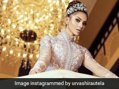 Urvashi Rautela Looks Straight Out Of A Fairy Tale In A Michael Cinco Gown