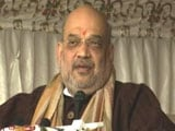 """Video : Amit Shah Removes Bulletproof Shield In Srinagar: """"Want To Speak Frankly"""""""