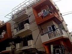 Watch: 3-Storey Building Collapses In Bengaluru