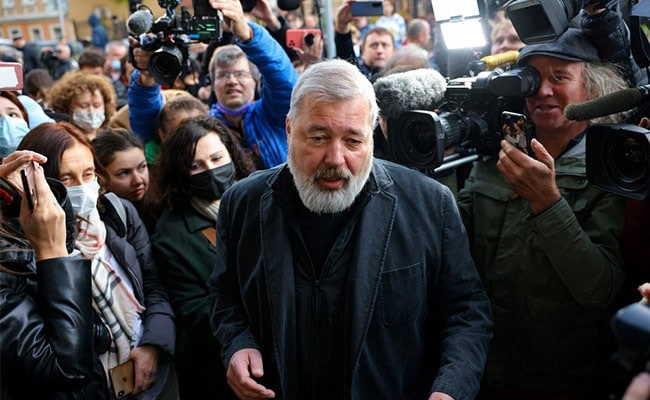 Nobel Winner Says He Would Have Given Peace Prize To Kremlin Critic Navalny