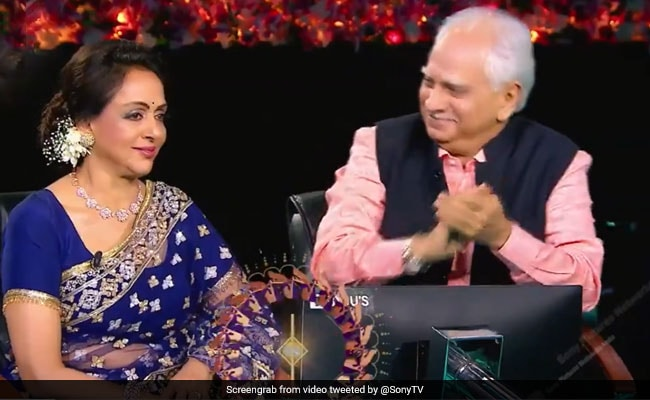 It Was A Mini Sholay Reunion For Amitabh Bachchan, Hema Malini And Ramesh Sippy On The Sets Of KBC 13