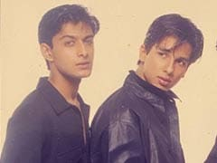 Shahid Kapoor With Vatsal Sheth In A Major Blast From The Past