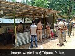 Pics Of Burning, Damaged Mosque Fake, Will Take Action: Tripura Police