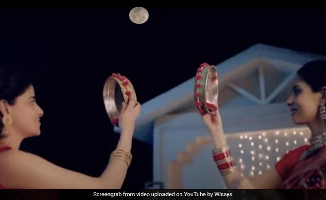 This Karva Chauth Ad Is Getting Mixed Reactions On Internet. Here's Why