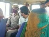 Video : UP Farmers' Killing: Minister's Son Taken To Site To Recreate Crime Scene