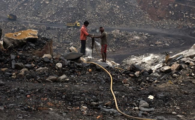The government allows up to 50% of coal to be sold from captured mines