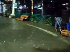 Watch: Nainital's Iconic Mall Road Flooded As Lake's Water Level Rises