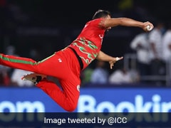 T20 World Cup: Oman's Fayyaz Butt Takes Sensational Catch To Dismiss Mahedi Hasan Of Bangladesh. Watch