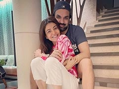 Kajal Aggarwal, Who Had Cynophobia, And Gautam Kitchlu Introduce New Family Member - Pet Pooch Mia